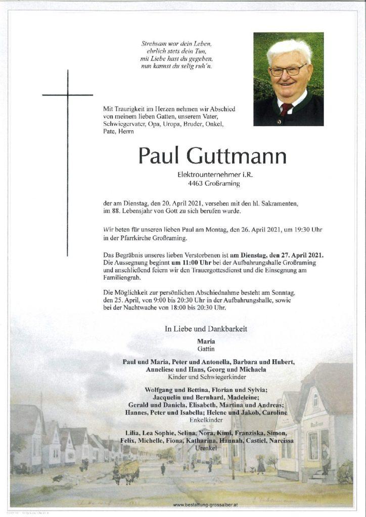 Paul Guttmann