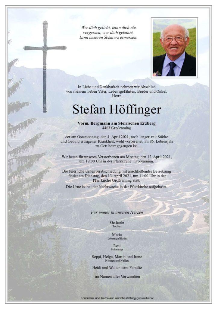 Stefan Höffinger