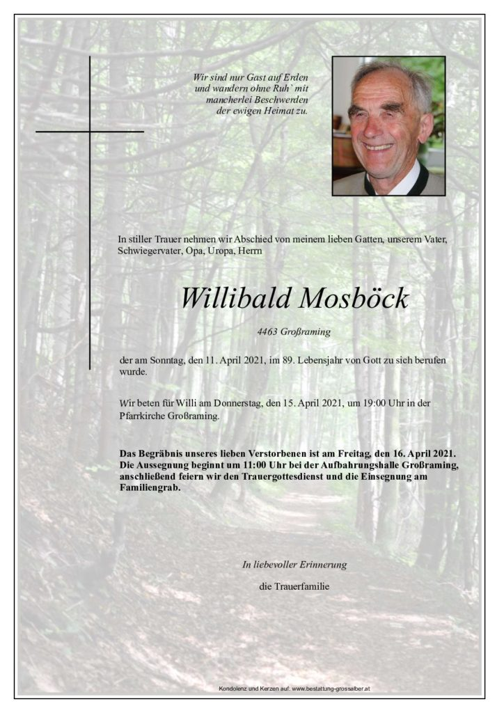 Willibald Mosböck