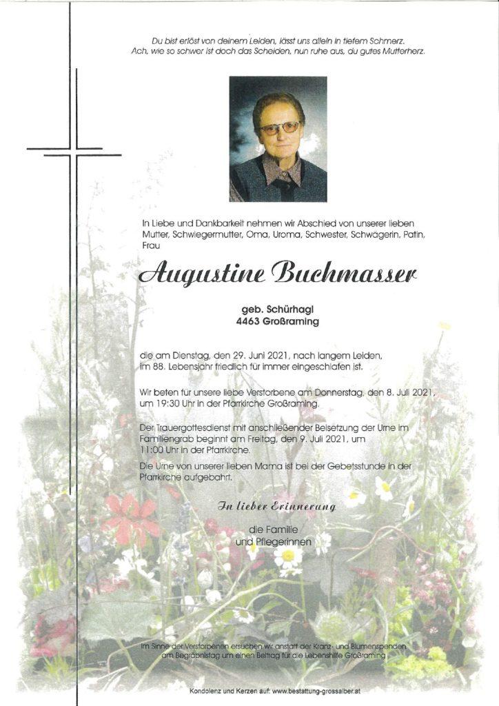 Augustine  Buchmasser