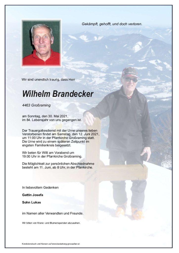 Wilhelm Brandecker