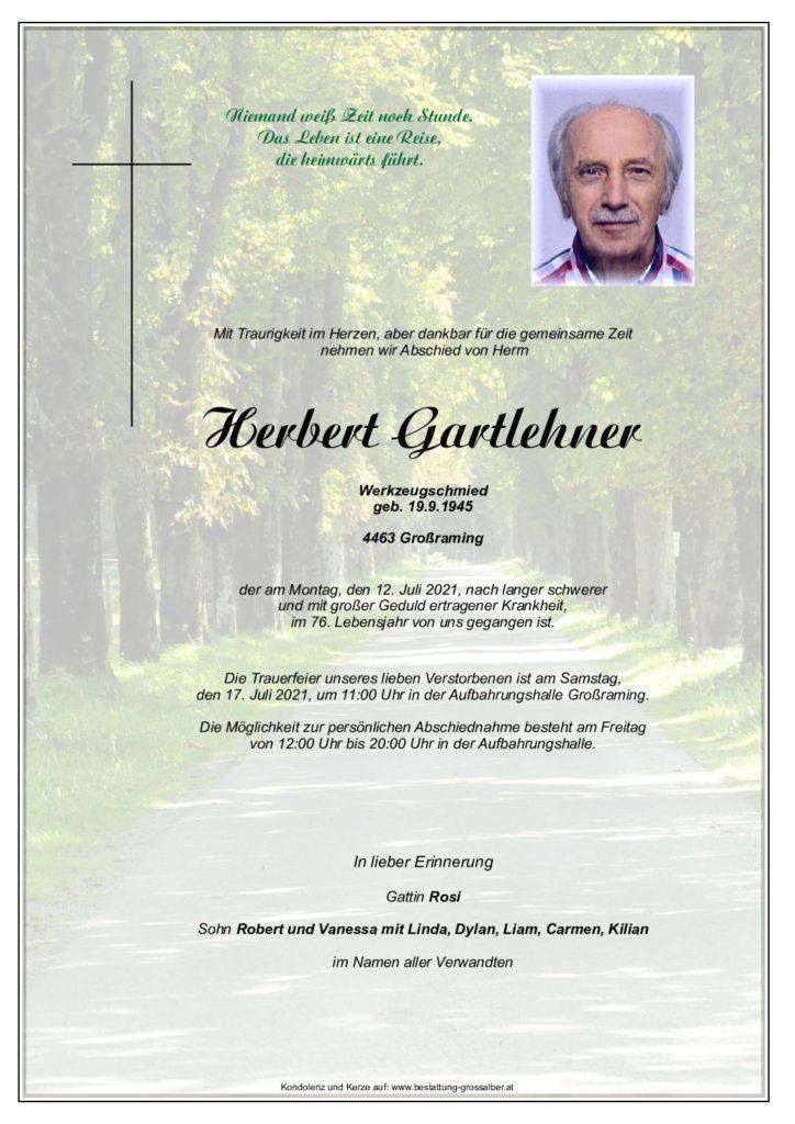 Herbert Gartlehner