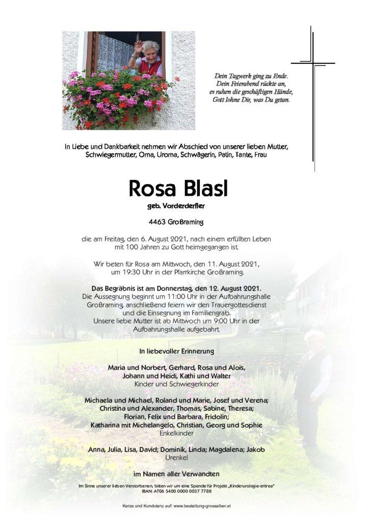 Rosa Blasl