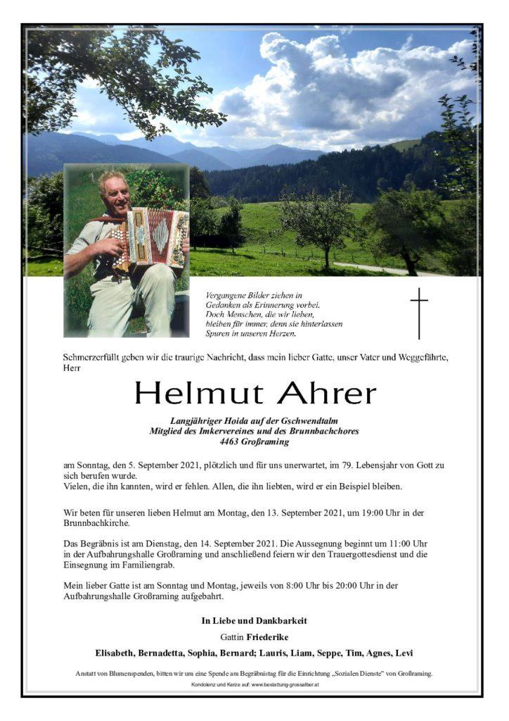 Helmut Ahrer
