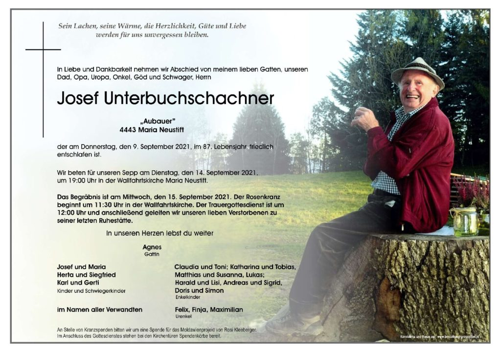 Josef Unterbuchschachner
