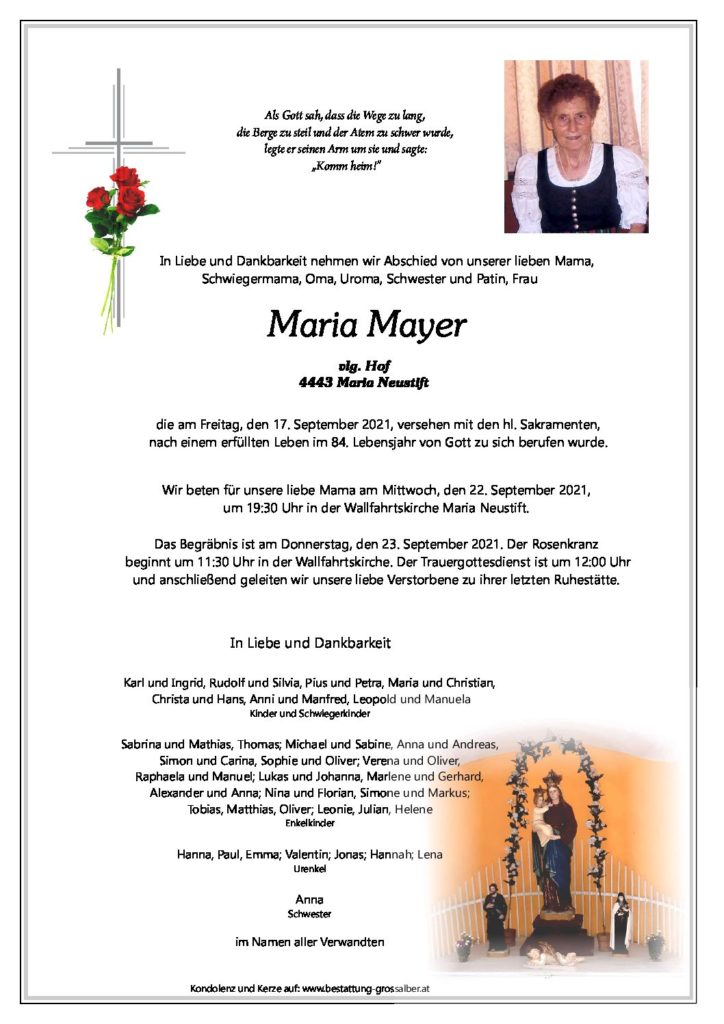 Maria Mayer